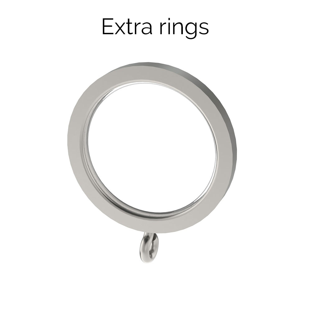 extra 30mm stainless steel rings