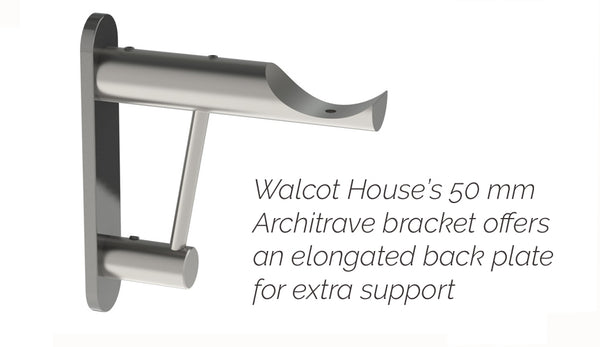 50mm extra support architrave bracket by Walcot House