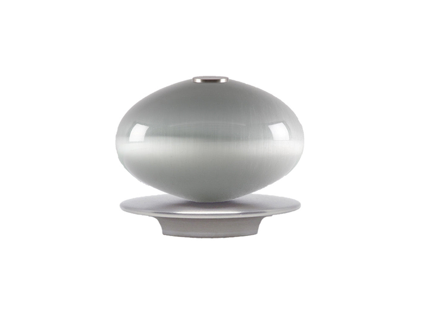 glass moonstone ellipse finial