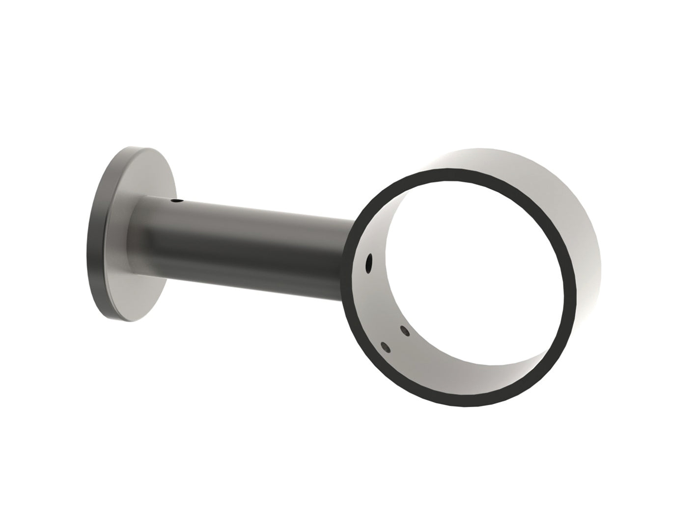 stainless steel centre bracket for curtain pole