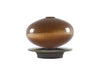brushed bronze moonstone finial