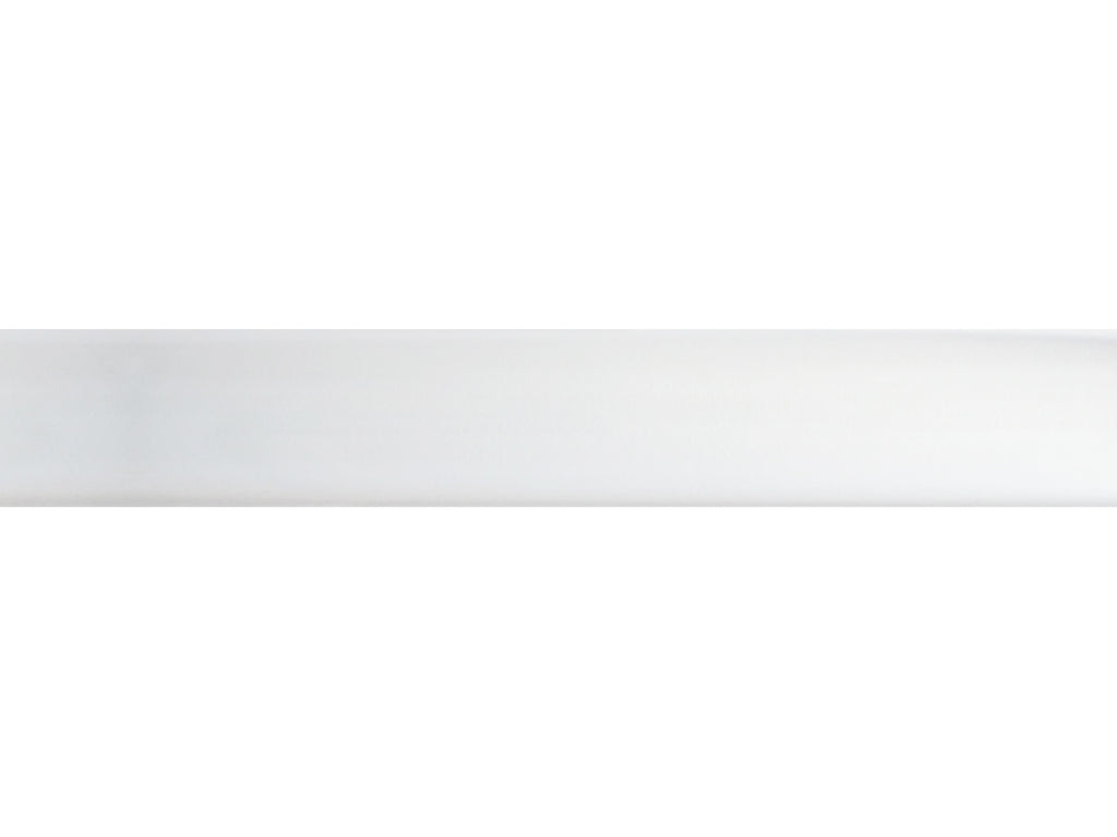 acrylic clear perspex curtain pole by Walcot House for a clean modern look