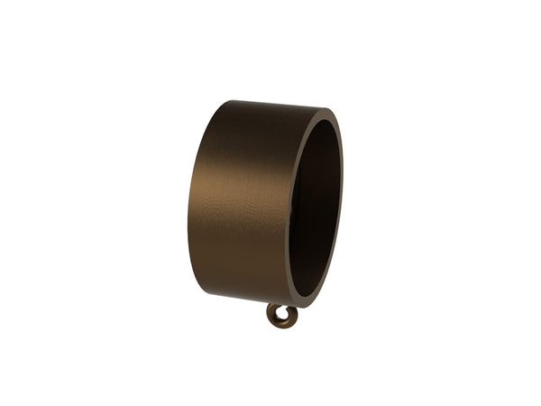 Stainless steel recess bracket for 50mm metal, wooden or wrapped curtain pole