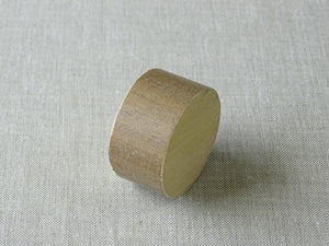 Cotswold Oak sample for 50mm dia. stained wood curtain pole - by Walcot House