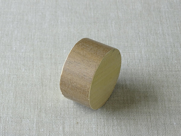 Weathered Oak sample for 50mm dia. stained wood curtain pole - by Walcot House