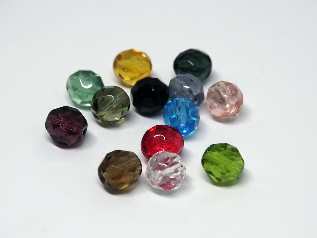Sample - coloured glass beads