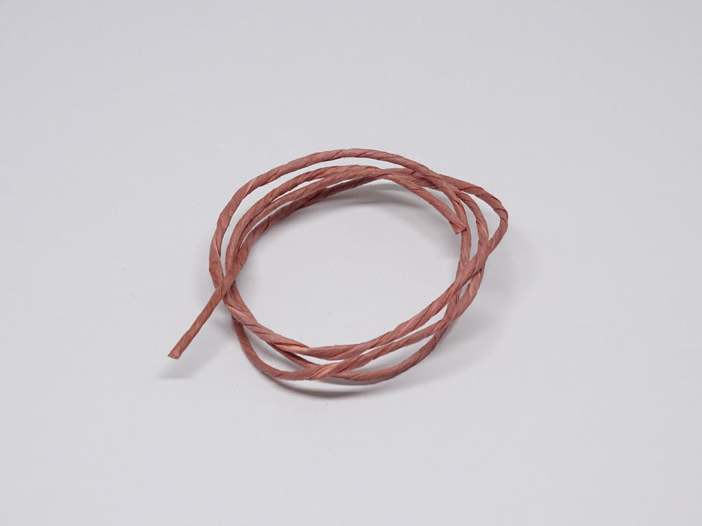 Blossom coloured twine sample