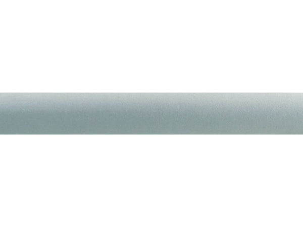 "Faux Suede ""Eucalyptus"" 50mm tracked curtain pole by Walcot House"