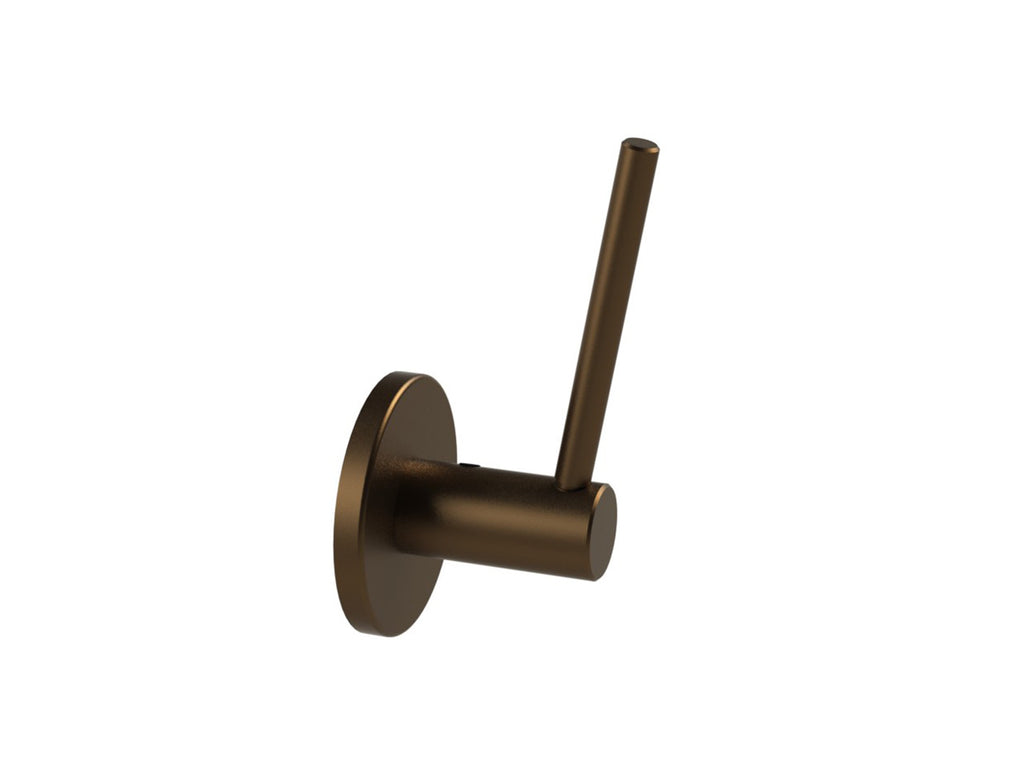 Universal support arm for Walcot House brackets - brushed bronze