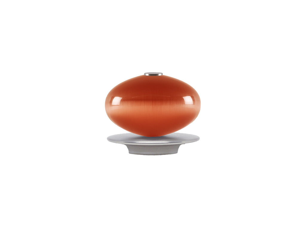 Glass moonstone finial in flame red | Walcot House 30mm collection