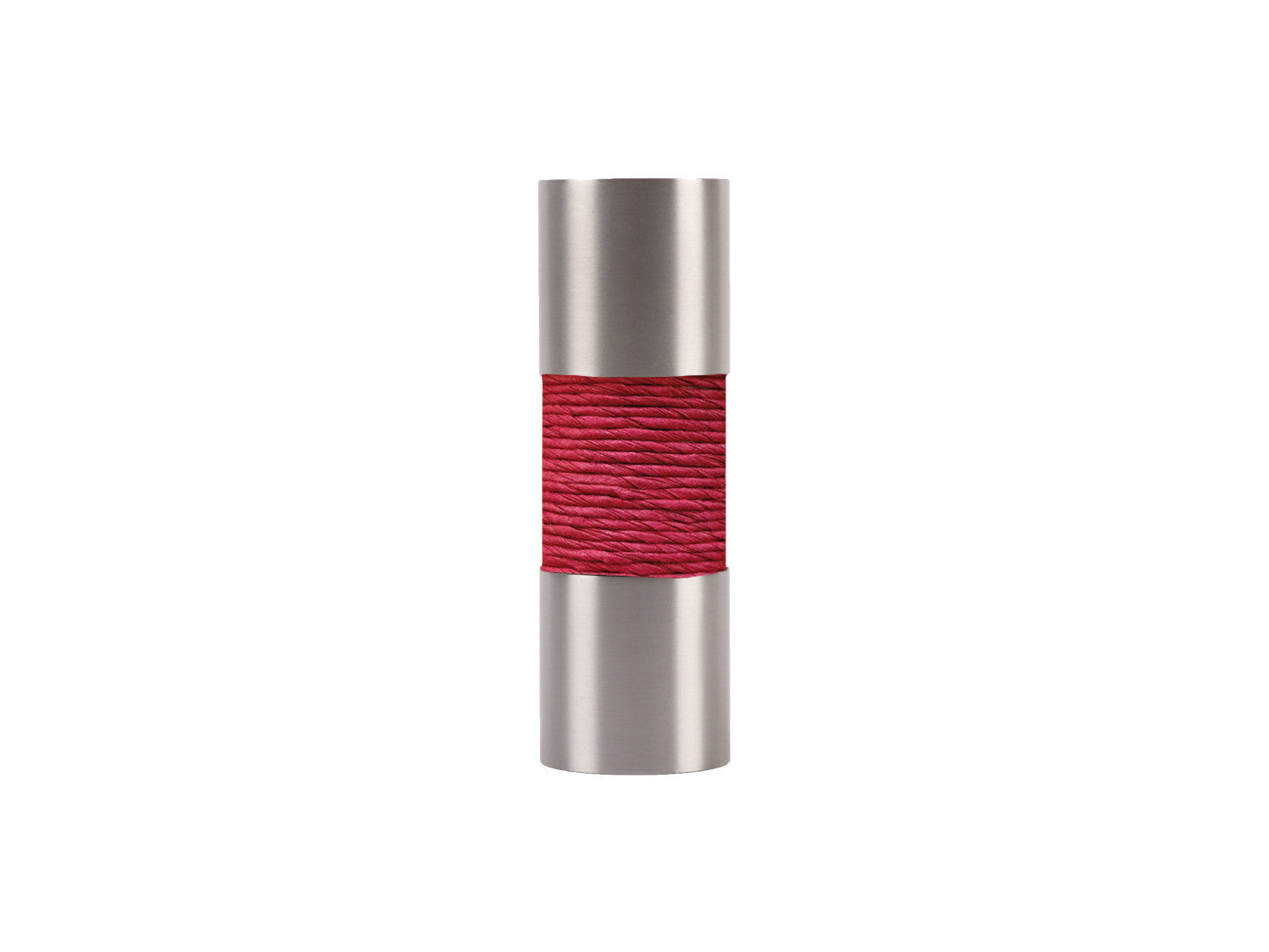 Stainless Steel Barrel Finial, Bright Twine Colours, 19mm Curtain ...