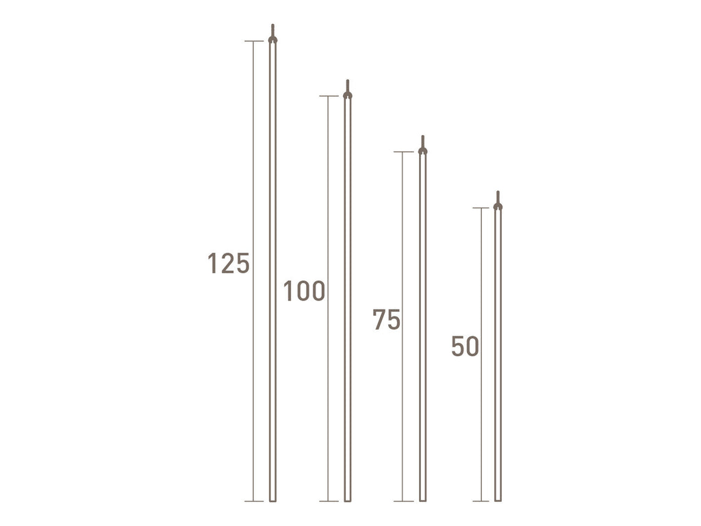 Stainless steel draw rod