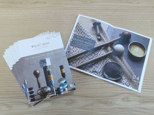 Curtain Poles, Hold Backs & Finials Mini Brochure | Walcot House