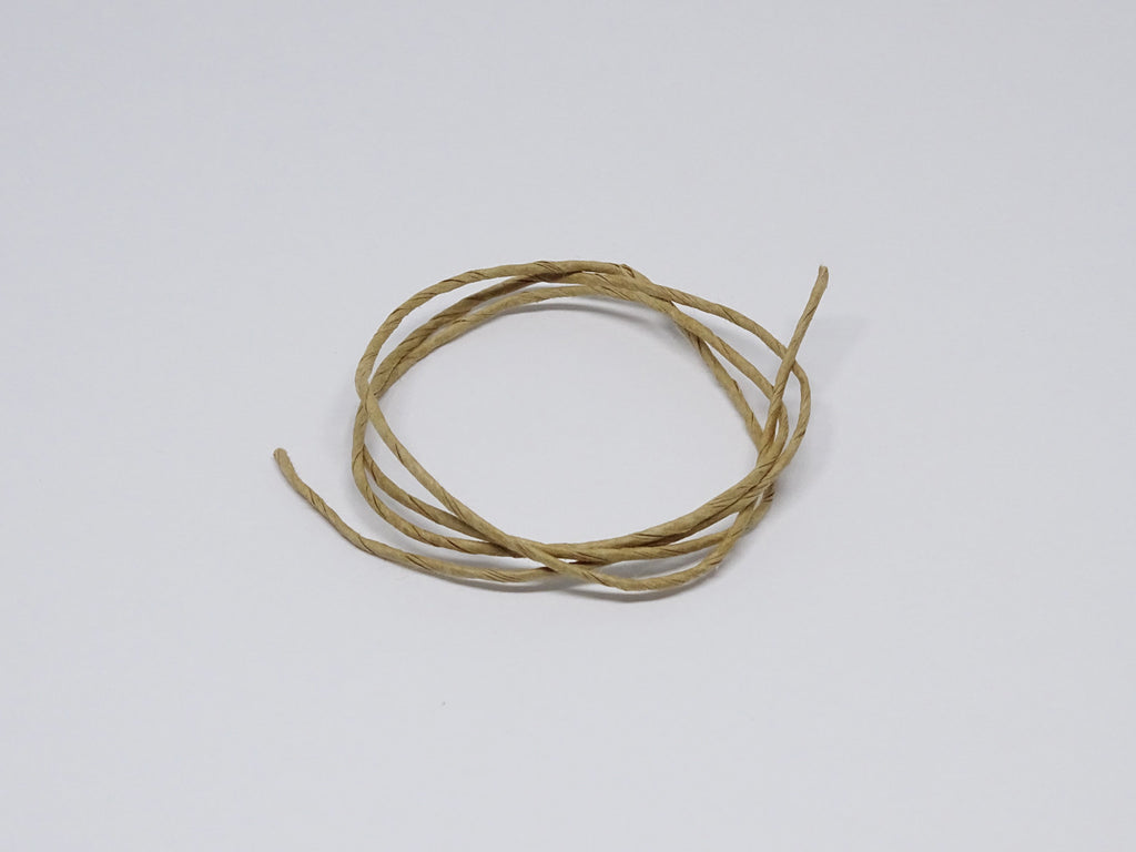 Oat coloured twine sample