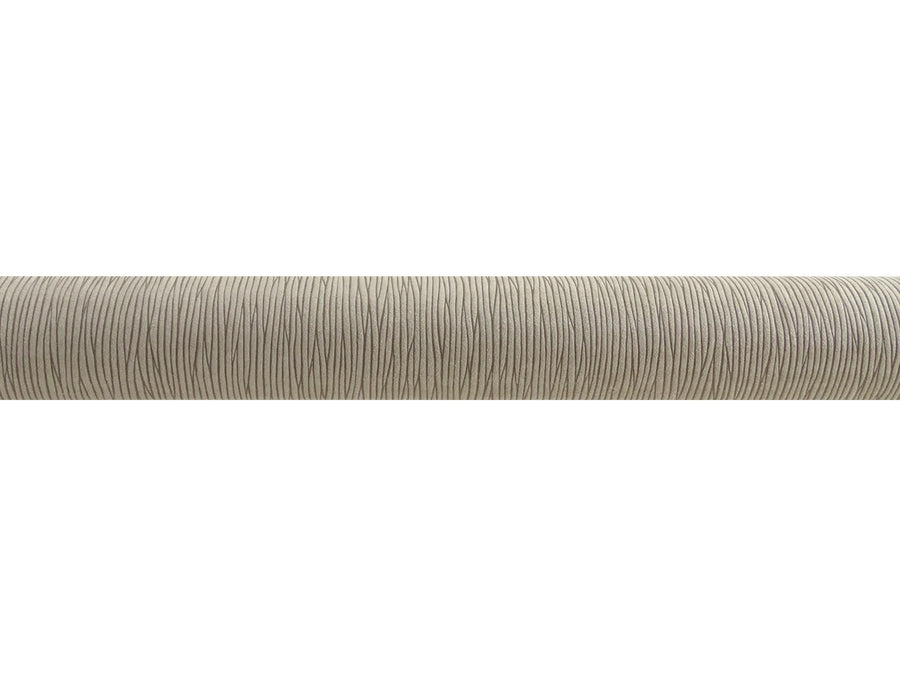 "Striped ""Shale"" 50mm tracked curtain pole bronze track by Walcot House"
