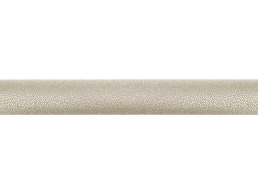 Sienese cream wrapped & tracked curtain pole 50mm diameter | Walcot House