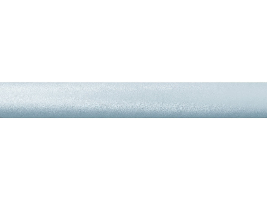 Sky blue wrapped & tracked curtain pole 50mm diameter | Walcot House