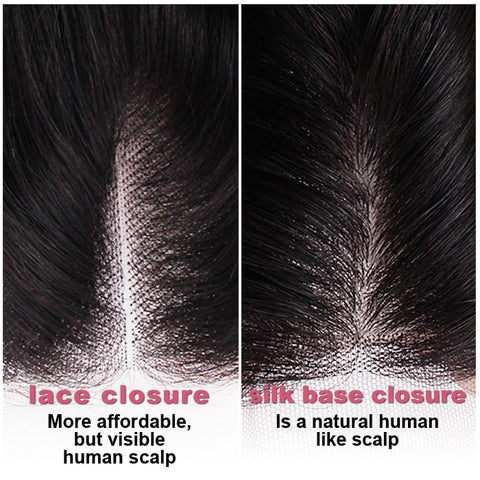 Lace Closure vs Silk Base Closure