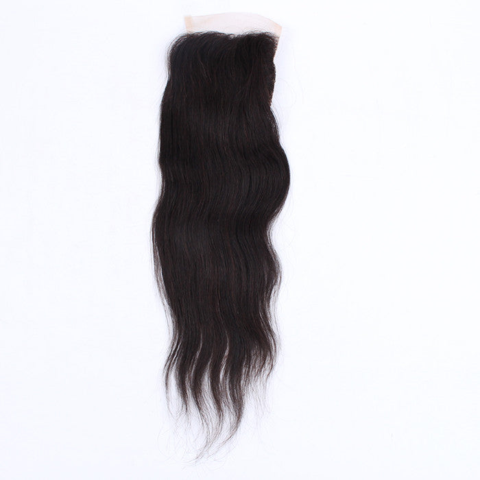 Brazilian Virgin Hair 4*4 Closure Straight