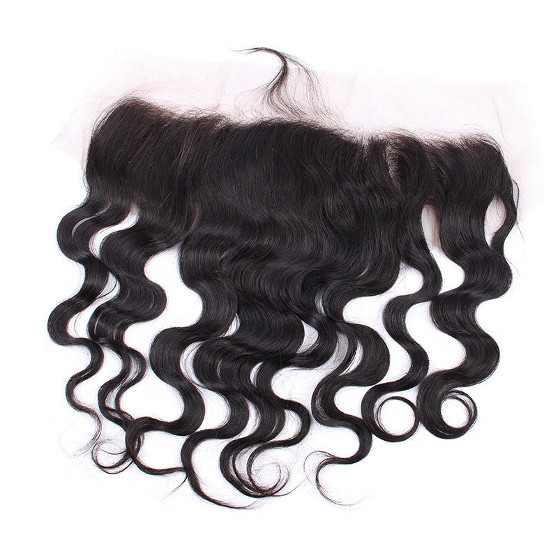 Unprocessed Indian Virgin Hair 13*4 Lace Frontal Body Wave