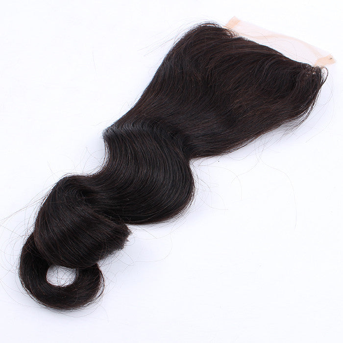 Brazilian Virgin Hair 4*4 Closure Loose Wave