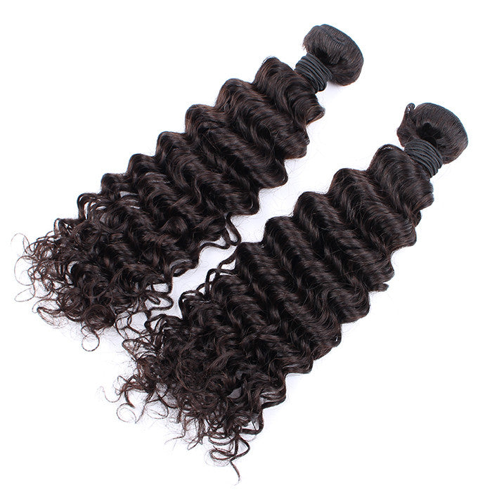 2 Bundles Brazilian Hair Deep Wave