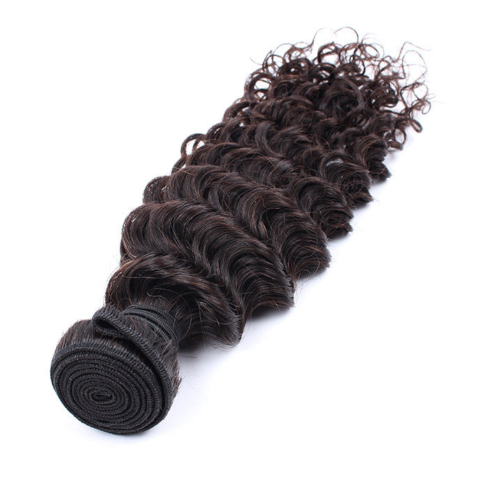 Unprocessed Malaysian Virgin Hair Grade 7A Top Quality Deep Wave Style