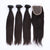 Fast Shipping 3 Bunldes Malaysian Straight Hair With 1 Closure