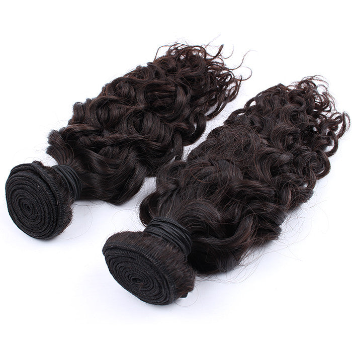 Raw Unprocessed Malaysian Virgin Hair Weave Spiral Curly