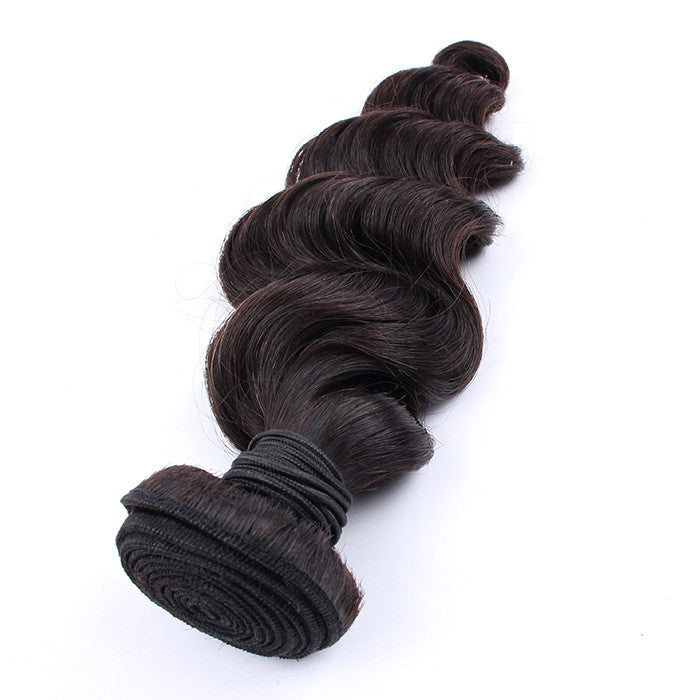 Unprocessed 7A Malaysian Virgin Hair 1 Bundle Loose Wave