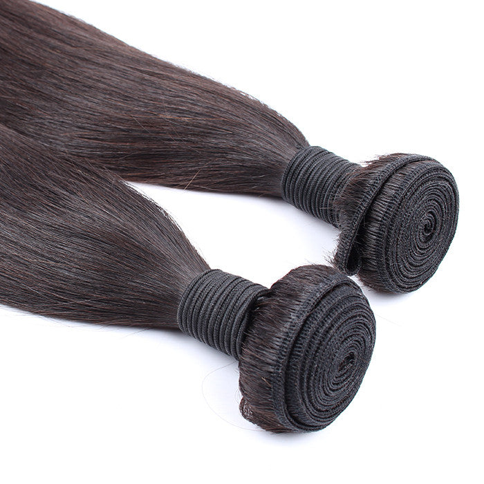 Wholesale Price 2 pieces/Lot Grade 7A Malaysian Straight Hair