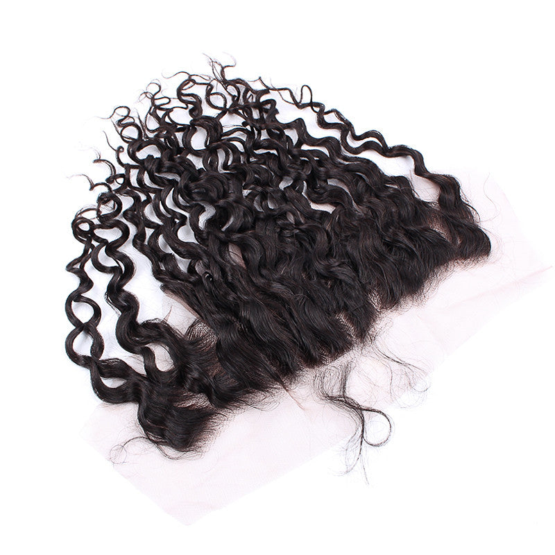Popular Hair Style Indian Spiral Curly 13*4inch Lace Frontal