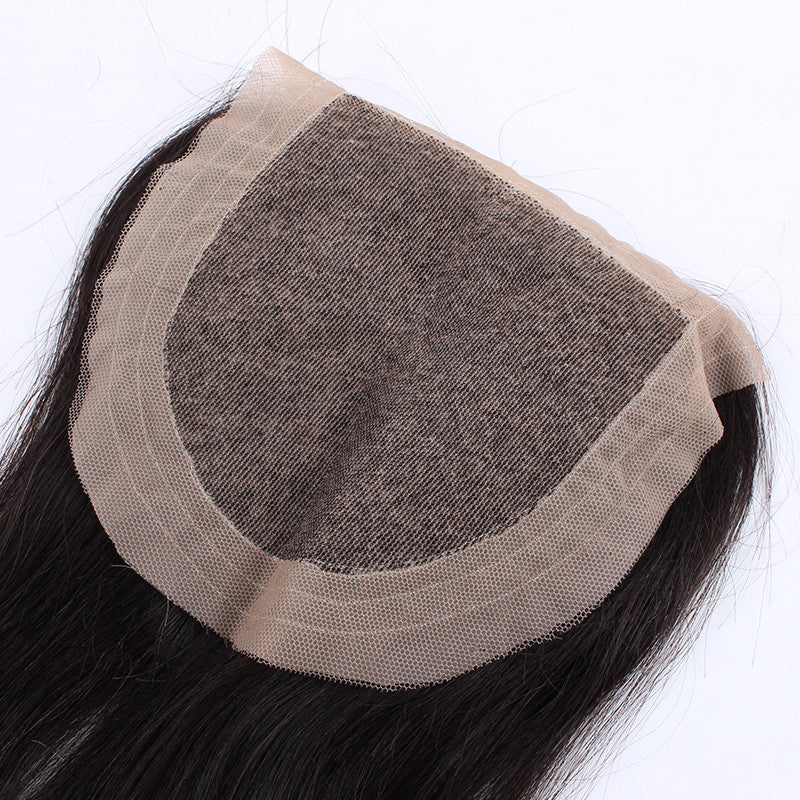 Top Quality Indian Virgin Hair 4*4 inch Silk Base Closure Silky Straight