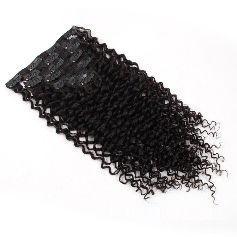 Clip in Hair Extensions 20inch Jerry Curly