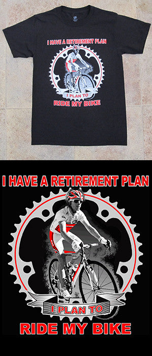 Retirement Plan Tee Shirt
