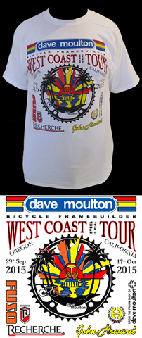 West Coast Tour Tee Shirt