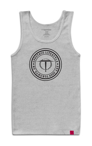 Oppotaco Certified Tank - Athletic Heather