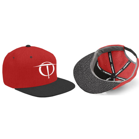Oppotaco Classic III Snap Back - Red/Black