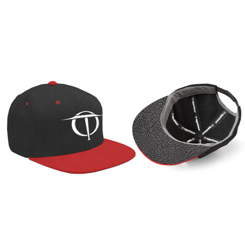 Oppotaco Classic III Snap Back - Black/Red