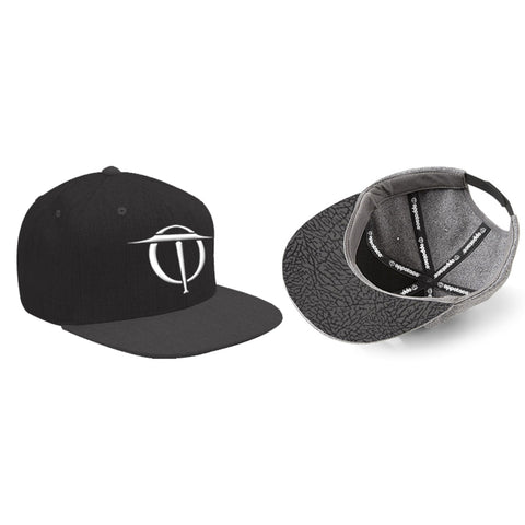 Oppotaco Classic III Snap Back - Black/Charcoal