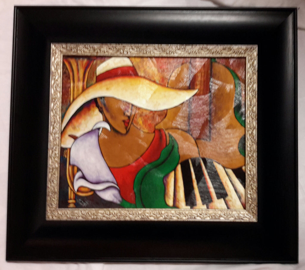 Music And Me Framed Art - LaShunBeal.com