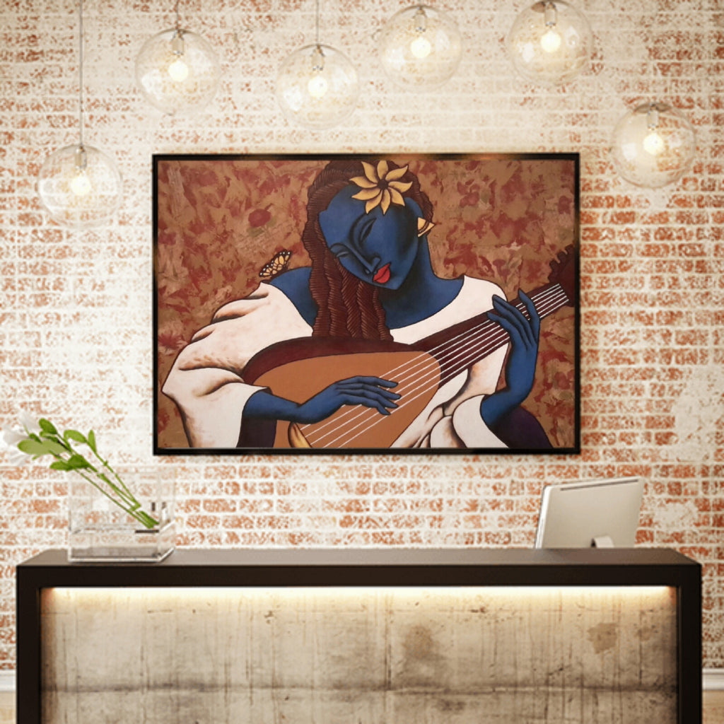 Butterfly Melody Lithograph Art Print