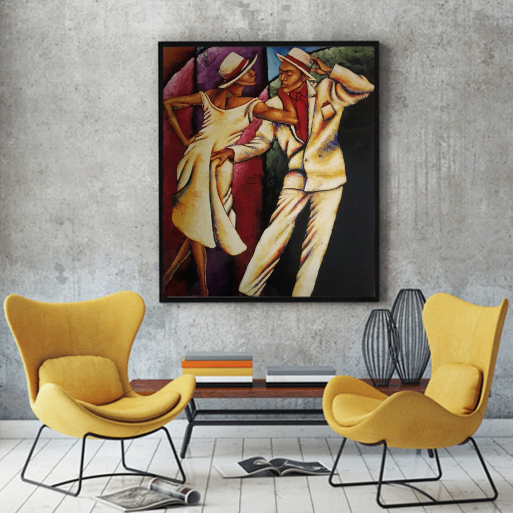 Steppin Out Lithograph Art Print
