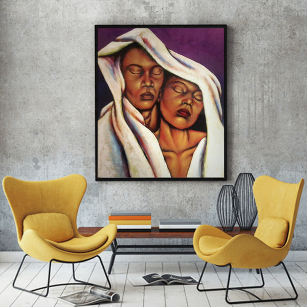 Just Us Two Lithograph Art Print
