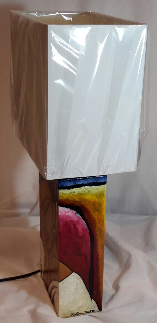 Hand Painted Lamp #2