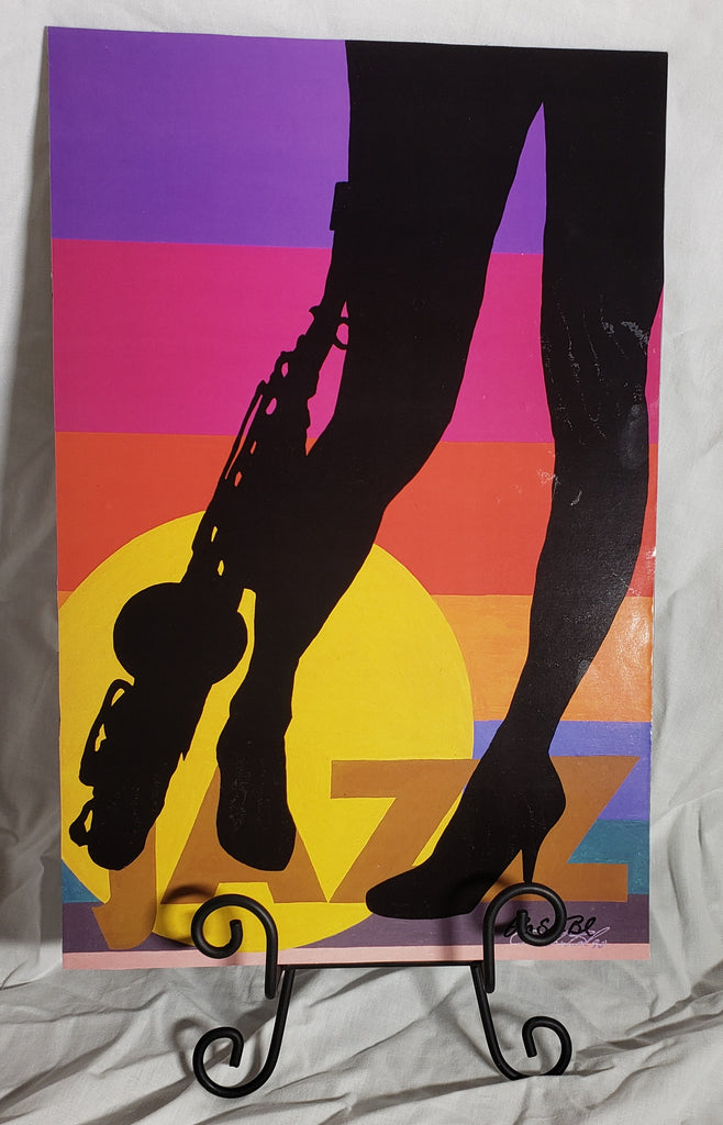 Jazz #2 Art Plaque