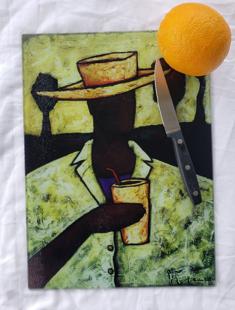 Ice Tea Cutting Board