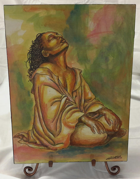 At Peace #2 Wall Art Plaque - Lashunbeal.com