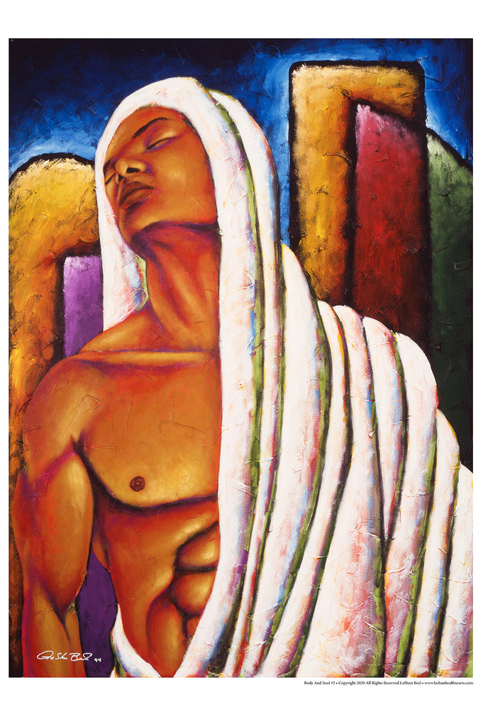 Body And Soul #2 24 x 36 Lithograph Art Print
