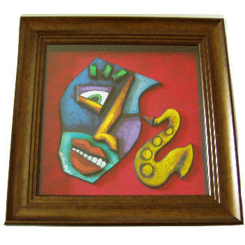 La Mask #203 Framed Art - Lashunbeal.com